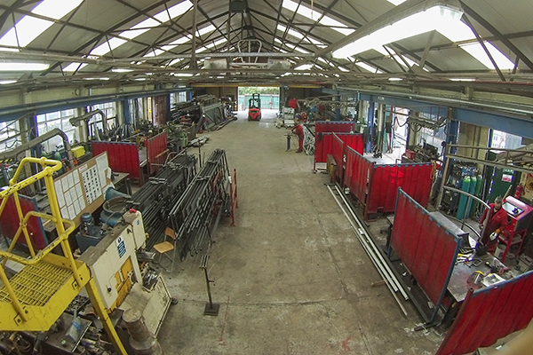 Extensive workshop fabrication services from Unitspark